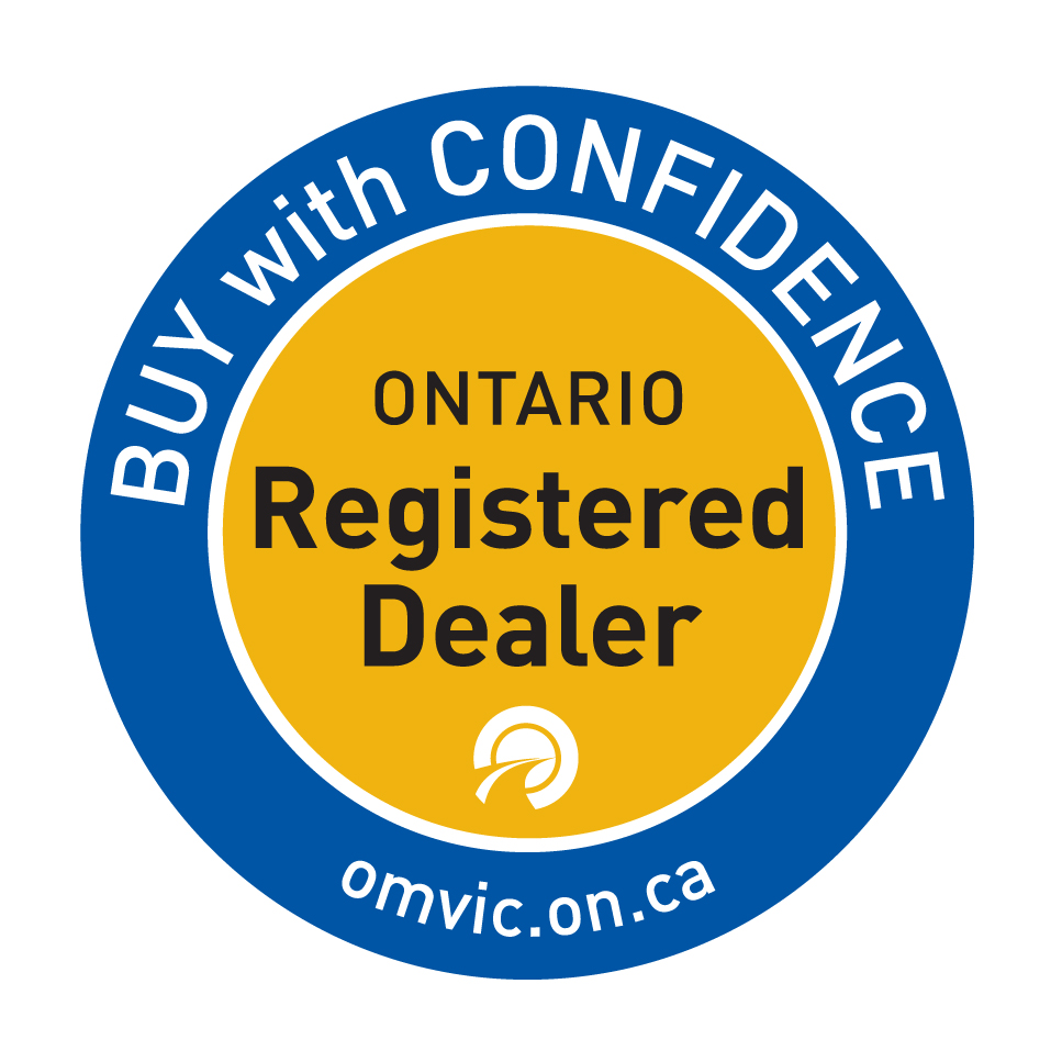 Image of the OMVIC 'buy with confidence' shield